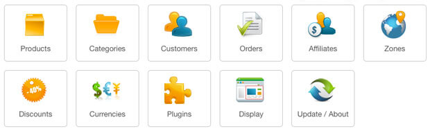 Hikashop basic options in Joomla